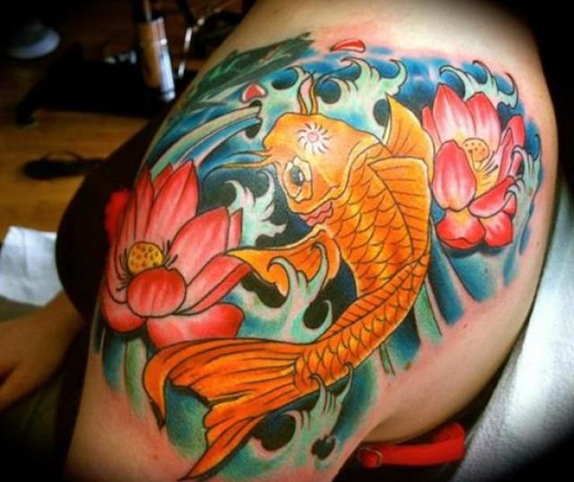 Tatuajes De Pez Koi